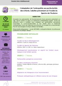 Votre ostéopathe à Paris 12 : formulaire d'inscription pour formation